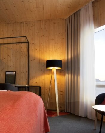Our rooms are very spacious with fantastic View